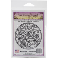Mistletoe Ornament Cling Stamp Our Daily Bread