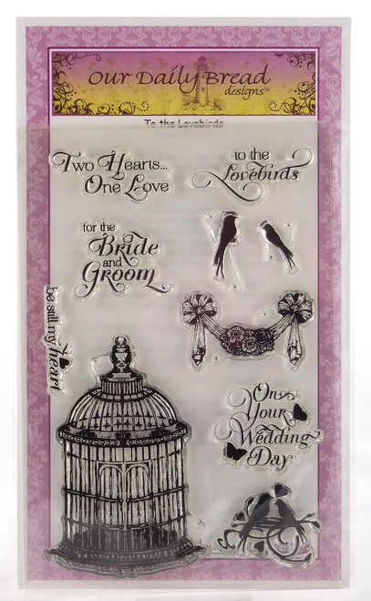 To The Love Birds Clear Cling Stamp Collection Our Daily Bread