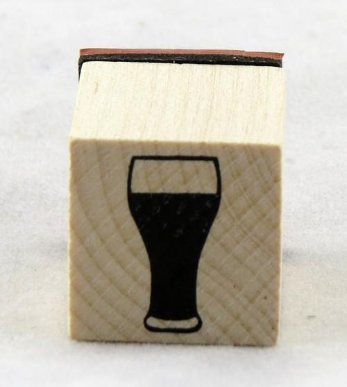 Beer Stein Wood Mounted Rubber Stamp Inkadinkado