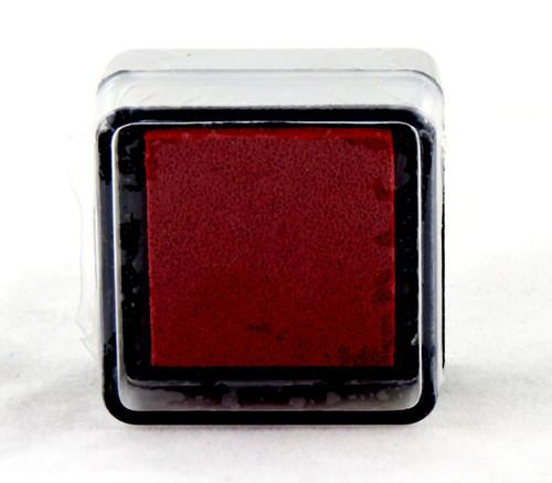 Poinsettia Red Pre-Inked Mini Stamp Pad Martha Stewart