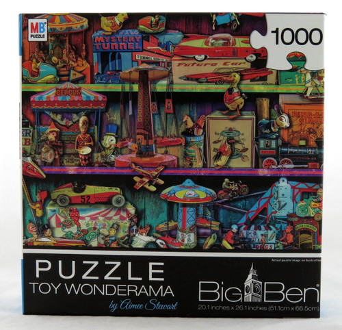 Toy Wonderama 1000 Piece Jigsaw Puzzle Aimee Stewart
