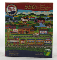 Pepsi Station 550 Piece Jigsaw Puzzle Anthony Kleem