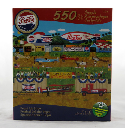Pepsi Air Show 550 Piece Jigsaw Puzzle Anthony Kleem
