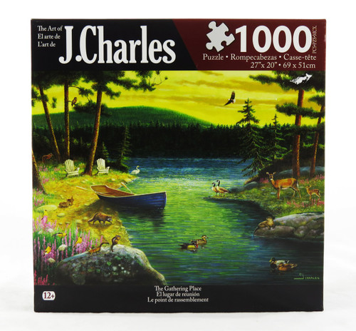 The Gathering Place 1000 Piece Jigsaw Puzzle J. Charles