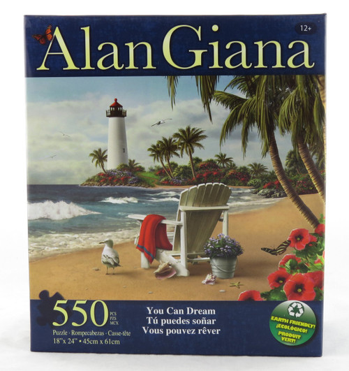 You Can Dream 550 Piece Jigsaw Puzzle Alan Giana
