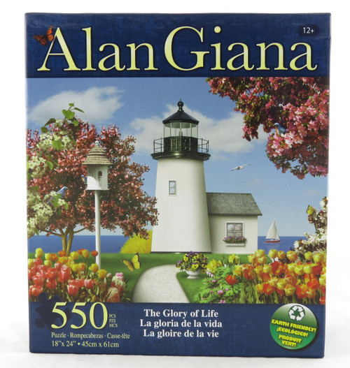 The Glory of Life 550 Piece Jigsaw Puzzle Alan Giana