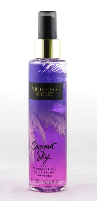 Coconut Sky Fantasies Collection Dry Fragrance Oil Spray Victoria's Secret 5oz