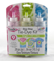 Brights One Step Tie Dye Kit Tulip