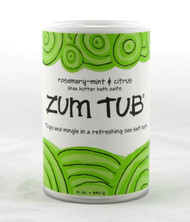 Rosemary Mint Citrus Zum Tub Shaker Can Bath Salts Indigo Wild 12oz