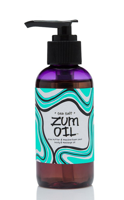 Sea Salt Zum Massage Oil Indigo Wild 4oz