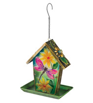 Dragonfly Solar Lantern Hanging Bird Feeder