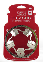 Snowman Illuma Lid Jar Topper Yankee Candle