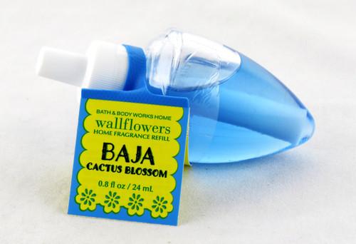 Baja Cactus Blossom Wallflower Fragrance Bulb Refill Bath and Body Works 0.8oz