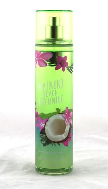 Waikiki Beach Coconut Fine Fragrance Mist Bath and Body Works 8oz