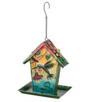 Hummingbird Solar Lantern Hanging Bird Feeder