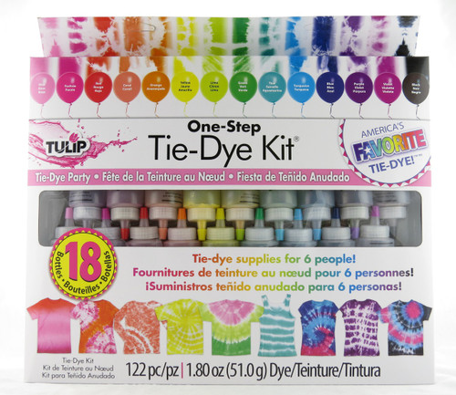 Tie Dye Party Extra Large One Step Tie Dye Kit Tulip