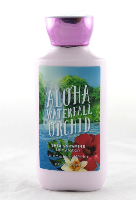 Aloha Waterfall Orchid Body Lotion Bath and Body Works 8oz