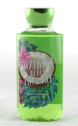Waikiki Beach Coconut Shower Gel Bath and Body Works 10oz