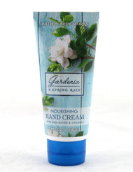Gardenia Spring Rain Hand Cream Bath and Body Works 2oz