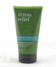 Eucalyptus Spearmint Stress Relief Body Scrub Aromatherapy Bath and Body Works 11oz