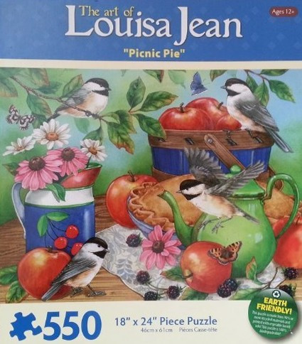 Picnic Pie 550 Piece Jigsaw Puzzle Louisa Jean