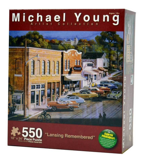 Lansing Remembered 550 Piece Jigsaw Puzzle Michael Young