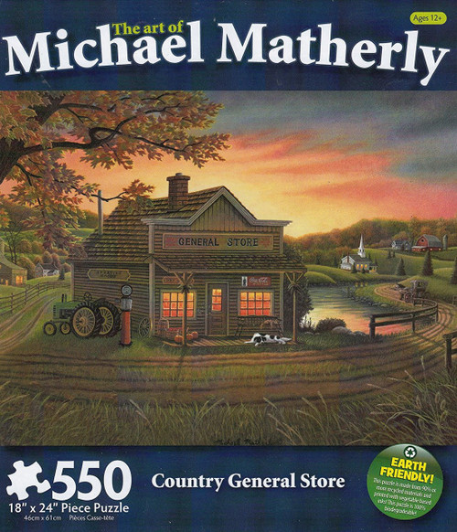 Country General Store 550 Piece Jigsaw Puzzle Michael Matherly