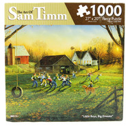 Little Boy's Big Dream 1000 Piece Jigsaw Puzzle Sam Timm