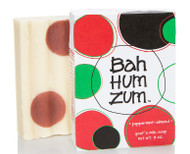 Bah Hum Zum Peppermint Almond Bar Soap Indigo Wild 3oz
