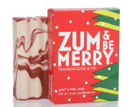 Zum and Be Merry Frankincense Fir Bar Soap Indigo Wild 3oz
