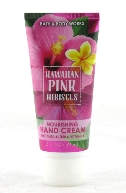Shop here now for Hawaiian Pink Hibiscus Hand Cream Bath and Body Works Stocking Stuffer