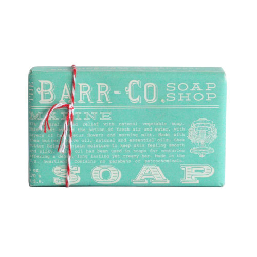 Marine Natural Bar Soap Barr-Co Soap Shop 6oz