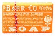 Blood Orange Amber Natural Bar Soap Barr-Co Soap Shop 6oz