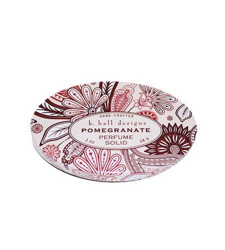 Pomegranate Solid Perfume K. Hall Design 1oz