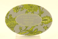 Lemon Sage Solid Perfume K. Hall Design Decorative Tin 1oz