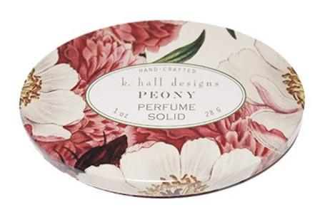 Peony Solid Perfume K. Hall Design 1oz