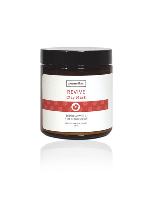 Revive Hibiscus Rosewood French Clay Face Mask pennyRae 1.5oz