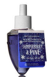 Juniper Berry & Pine Wallflower Fragrance Bulb Refill Bath and Body Works 0.8oz
