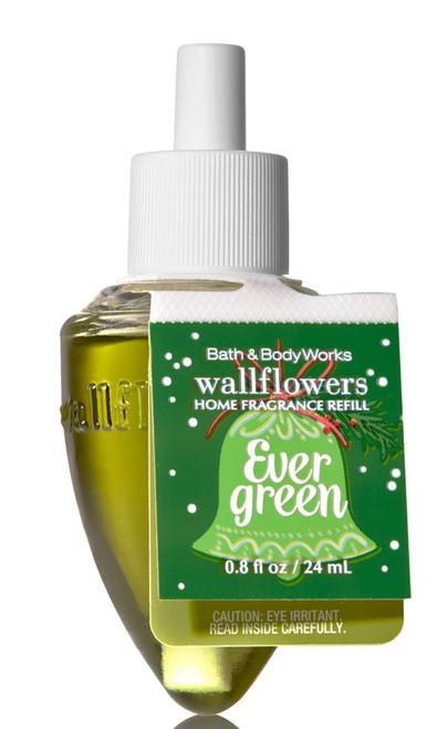 Evergreen Wallflower Fragrance Bulb Refill Bath and Body Works 0.8oz