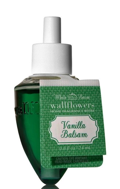 Vanilla Balsam Wallflower Fragrance Bulb Refill Bath and Body Works 0.8oz