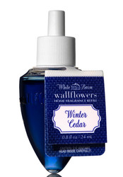 Winter Cedar Wallflower Fragrance Bulb Refill Bath and Body Works 0.8oz