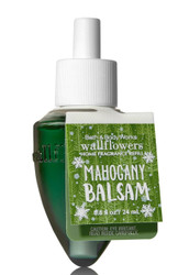 Mahogany Balsam Wallflower Fragrance Bulb Refill Bath and Body Works 0.8oz