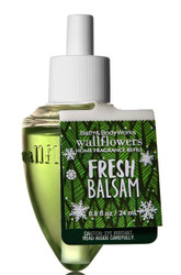 Fresh Balsam Wallflower Fragrance Bulb Refill Bath and Body Works 0.8oz