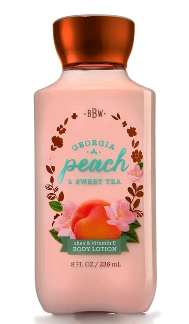 Georgia Peach Sweet Tea Body Lotion Bath and Body Works 8oz
