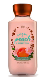 Georgia Peach Sweet Tea Body Lotion Bath and Body Works 8oz