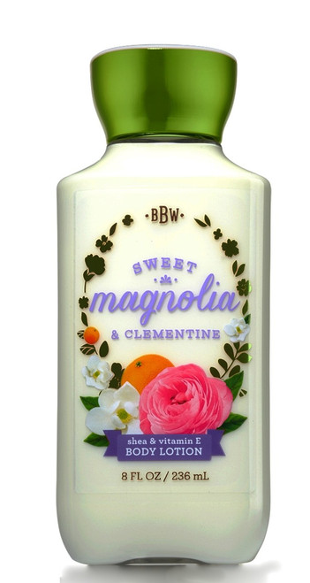 Sweet Magnolia Clementine Body Lotion Bath and Body Works 8oz