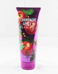 Champagne Apple & Honey Ultra Shea Body Cream Bath and Body Works 8oz