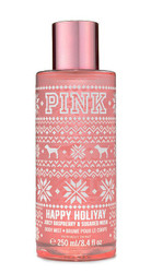 Happy Holiyay PINK Body Mist Victoria's Secret 8.4oz