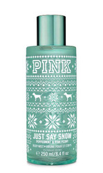 Just Say Snow PINK Body Mist Victoria's Secret 8.4oz