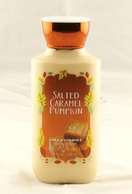 Salted Caramel Pumpkin Body Lotion Bath and Body Works 8oz